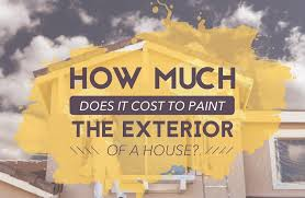 painting the exterior of a house in canada