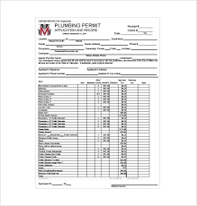 Receipt Template Doc Receipt Template Plumbing Doc For Word Documents In