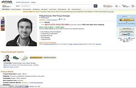 Online Resume Website Classy Online Amazon CV Job Seeker Philippe Dubost Creates Hilarious