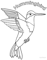 Small Picture Printable Hummingbird Coloring Pages For Kids Cool2bKids