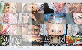 art portfolio template fine art website design 15 magnificent websites created artists and