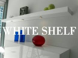 Asda Floating Shelves Stunning Furniture Nice High Gloss White Floating Shelves Full Situ Set