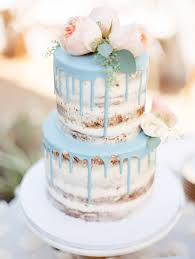 gorgeous wedding cakes. perfectly pretty is the most adequate way to describe this seminaked drip cake, infusing sweetness gorgeous wedding cakes
