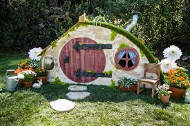 How To DIY Hobbit Hole Playhouse Home Family Hallmark Channel