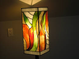 funky lighting. Stasyna Floor Lamp - Stained Art Glass Panel By Greg Locke At Gotham Glassworks Funky Lighting