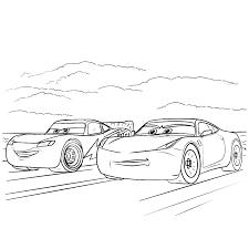 Cars 3 Kleurplaat