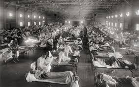 Overeenkomst corona en Spaanse griep: ook toen zou het roer omgaan -  Leeuwarder Courant