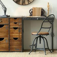 wood and wrought iron furniture. Vintage Wrought Iron Furniture Loft Country Old Solid Wood Dining Tables And . 8