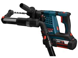 bosch bulldog hammer drill. the bosch rh328vc-36 bulldog provides maximum productivity with 2.4 ft/lbs of impact energy for fast, consistent drilling and chiseling in concrete. hammer drill