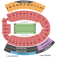 Wisconsin Badger Football Stadium Seating Chart Buy Wisconsin Badgers Football Tickets Seating Charts For