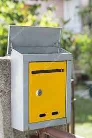 open mailbox. Open Mailbox On The Fence, Shot With Low Depth Of Field \u2014 Stock Photo