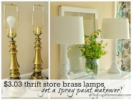 painting brass lamps50