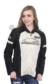 harley davidson womens screamin eagle reflective mesh riding stone casual jacket