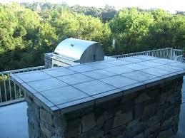 outdoor tile countertops ceramic tile bar outdoor kitchen tile countertops