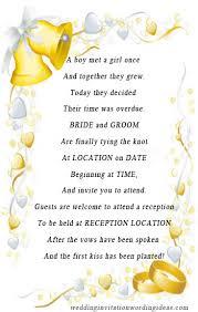 Wedding Invitation Cards Wordings
