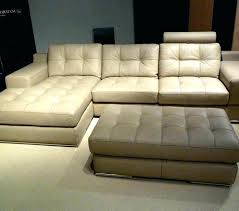 tan leather sectional couch sofas and u shaped modern canada tan leather sectional