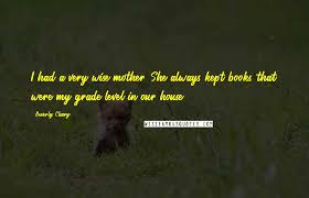 Beverly Cleary Quotes Wise Famous Quotes Sayings And Quotations By Simple Very Wise Quotes