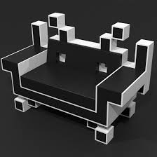 Space Invader Couch Model Of Couch Space Invaders