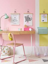 Office Room: Small Pink Workspace - Girly Workspace