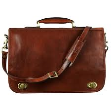 brown leather briefcase illusions