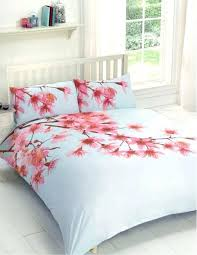 cherry blossom duvet cover bedding sets variety of sizes comforters japanese