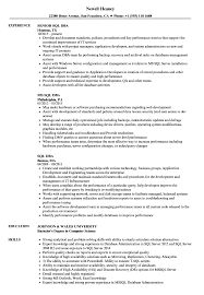 Dba Resume Examples SQL DBA Resume Samples Velvet Jobs 18