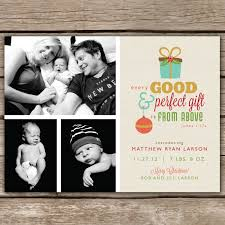 Christmas Birth Announcement Ideas Christmas Card Birth Announcements Rome Fontanacountryinn Com