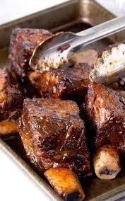 slow cooker bbq short ribs recipe