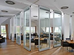 clear office. Perfect Office Beautiful Interior Design Restaurant Come With Tall Clear Glass Room  Divider Plus Stainless Steel Frame And On Clear Office