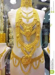 Dubai Gold Jewellery Designs Photos Gold Jewelry At The Dubai Gold Souk Editorial Stock Photo