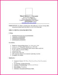 Ojt Resume Computer Engineering Beautiful Sample Resume Bsba