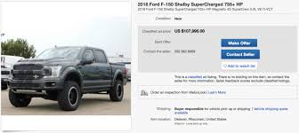 755 HP Ford F-150 Shelby Super Snake Currently On eBay