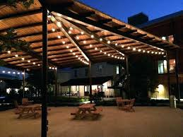 cafe outdoor lights outdoor canopy lighting surf city commercial cafe lighting outdoor lighting intended for outdoor cafe outdoor lights
