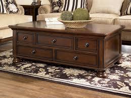 dark wood coffee tables with storage rascalartsnyc