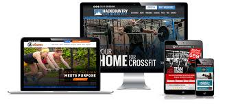 gym website design fitness crossfit affiliate website design sitefi our work