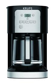 Are you looking for a small coffee maker? Krups Krups Ec321 12 Cup Thermobrew Programmable Coffee Maker Ec321050