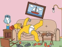 Resultado de imagen de Homer comiendo