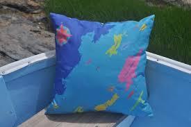 Nautical Chart Pillows Chart Pillows