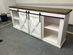 full size of barn door coffee table for entry sliding buffet dining diy farmhouse console