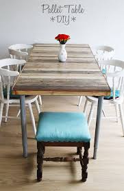 pallets made into furniture. pallet table diy pallets made into furniture