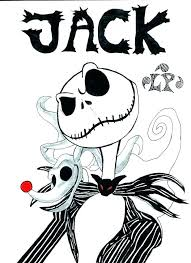 Coloring Pages Nightmare Before Christmas Coloring Pages The Night