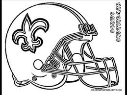coloringbuddymike nfl football helmet coloring