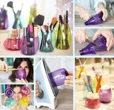 DIY Cosmetic Containers #makeup #organizer #storage #DIY - bellashoot.com |  ~DIY BEAUTY RECIPES~ | Pinterest | Cosmetic containers, Cosmetics and  Storage