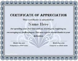 Employee Of The Year Certificate Template Free Free Certificate Of Appreciation Certificate Of Appreciation