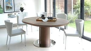 modern round table modern round walnut extending dining table modern table lamps images
