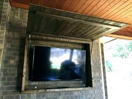 outdoor tv cabinet plans ideas outside