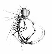эскиз тату фото стрекоза с иголками татуировки и эскизы стрекозы
