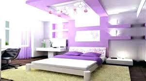 purple painted rooms