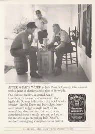 bamboo trading jack daniel s ad checkers and lemonade  jack daniel s 1986 ad checkers and lemonade