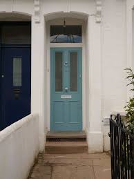 the london door company stoke newmington london farrow and ball stone blue